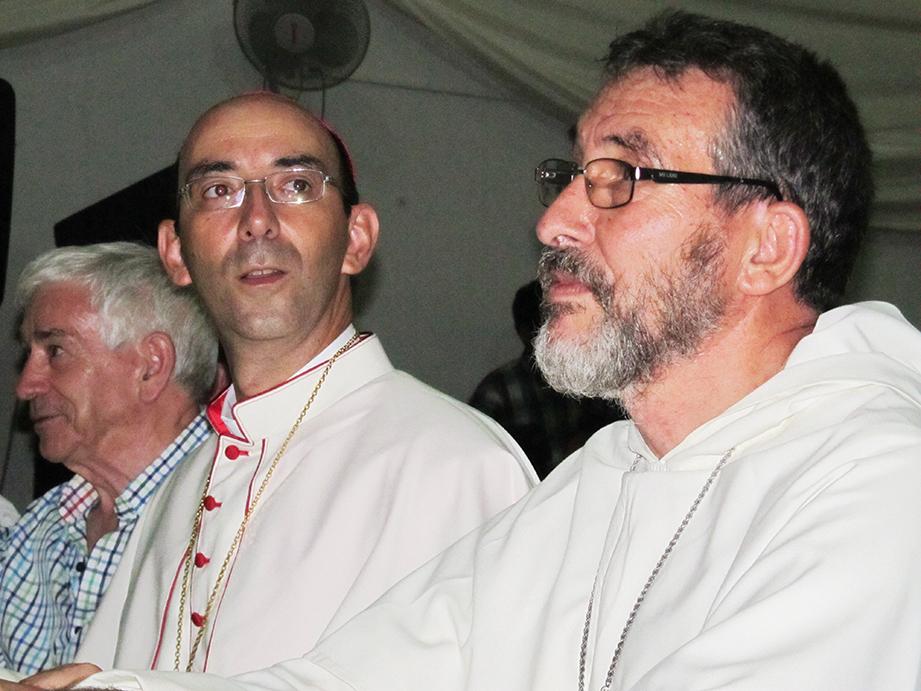 Dos obispos dominicos