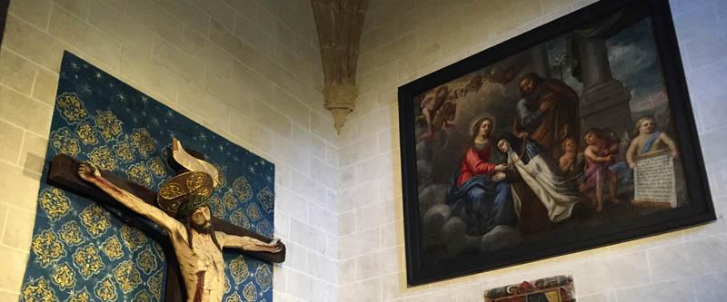 Cuadro Santa Teresa, dominicos Ávila