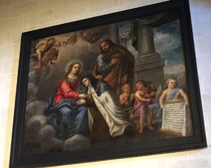 Santa Teresa, dominicos Ávila